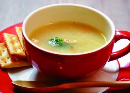 ほっこり体にやさしい<br>オリジナルスープ